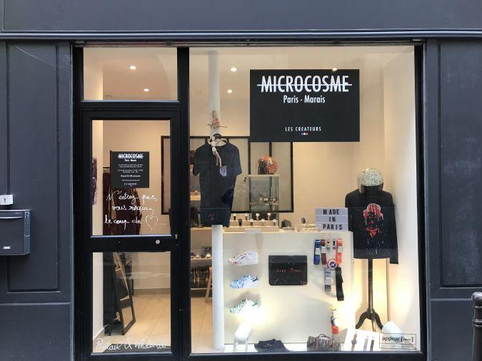 Boutique créateur- Marais (rue Temple)